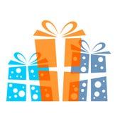Geschenk Boxes Lizenzfreies Stockfoto