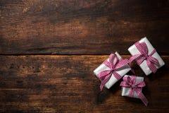 Geschenk Boxes Lizenzfreies Stockbild