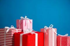 Geschenk Boxes Lizenzfreie Stockfotos