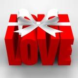 Geschenk der Liebe Stockfotos
