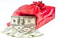 Geschenk des Geldes Stockbild