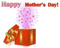 Geschenk des Mutter Tages. Stockbilder