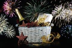 Geschenk des neuen Jahres Lizenzfreie Stockfotos