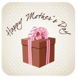 Geschenk für Muttertag stock abbildung