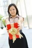 Geschenk für Sie Lizenzfreie Stockbilder