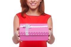 Geschenk für Sie. Stockfotografie