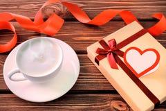 Geschenk für Valentinsgruß ` s Tag Stockfoto