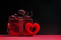 Geschenk für Valentinstag Stockfoto