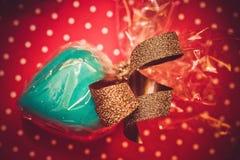Geschenk für Valentinstag Stockfotografie