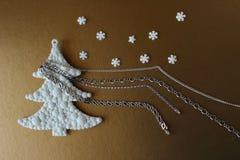 Geschenk für Weihnachten Lizenzfreie Stockfotografie
