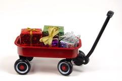 Geschenk-Geben stockbild
