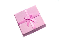 Geschenk getrennt auf weißem Hintergrund Lizenzfreie Stockfotografie
