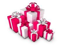 Geschenk-Kästen Stockbilder