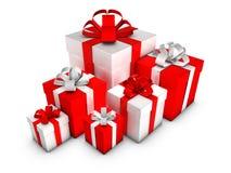 Geschenk-Kästen Lizenzfreies Stockfoto