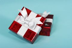 Geschenk-Kästen stockbild