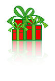 Geschenk-Kästen Lizenzfreie Stockfotos