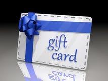 Geschenk-Karte Lizenzfreie Stockfotografie