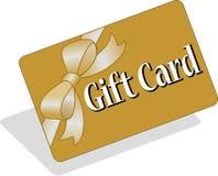 Geschenk-Karte/ENV Stockfoto