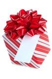 Geschenk-Karte und Geschenk Stockbild