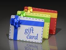 Geschenk-Karten Lizenzfreies Stockbild