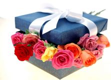 Geschenk-Kasten Stockbilder