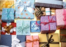 Geschenk-Kasten Stockfotografie