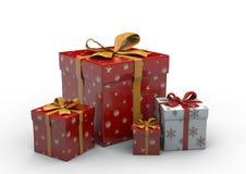 Geschenk-Kasten lokalisiert Lizenzfreies Stockbild