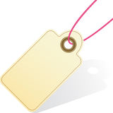 Geschenk-Marken-Ikone Lizenzfreies Stockbild
