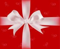 Geschenk mit Farbbändern Lizenzfreies Stockfoto