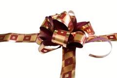 Geschenk mit Farbband lizenzfreies stockfoto