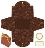 Geschenk oder verpackenkasten des Produktes. Stockfoto