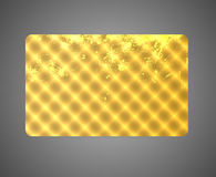 Geschenk-/Rabatt/Business-Kartenschablone. Muster Stockbild