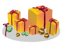 Geschenk und Dekoration Lizenzfreie Stockfotos