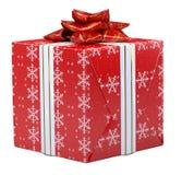 Geschenk und Stechpalme Lizenzfreie Stockfotografie