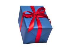 Geschenk und Stechpalme Lizenzfreie Stockbilder