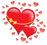Geschenk-Valentinsgrüße Lizenzfreie Stockbilder