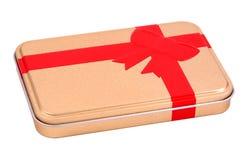 Geschenk-Zinn lizenzfreie stockfotos