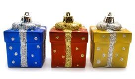 Geschenk zum Weihnachten Lizenzfreie Stockfotos