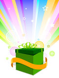 Geschenkabbildung Stockbild