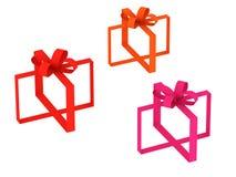 Geschenkbänder Stockfotografie