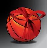 Geschenkbasketball lizenzfreie abbildung
