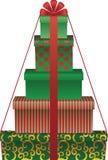 Geschenkbaum Stockbilder