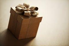 Geschenkbox Stockfotografie