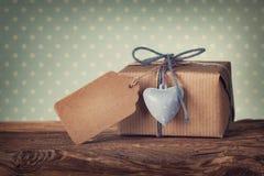 Geschenkbox Stockbild