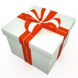 Geschenkbox, 3D Stockfoto