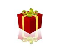 Geschenkbox 3d Lizenzfreie Stockfotos