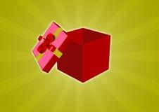 Geschenkbox 3d Stockbilder