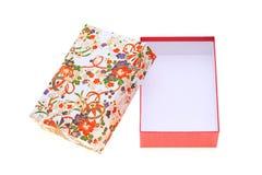 Geschenkbox des japanischen Musters Stockfotos