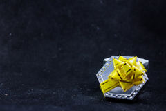 Geschenkbox für Ringe lizenzfreie stockfotos