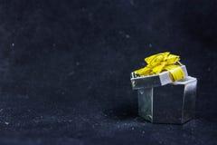 Geschenkbox für Ringe stockfoto